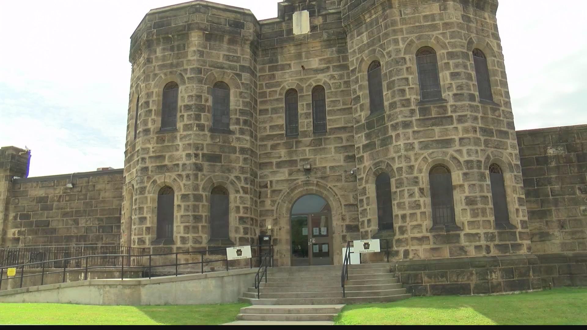 Outisde of Blair County Prison