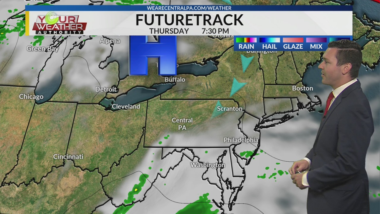 Wednesday Afternoon Weather Forecast, Sept, 4th, 2019