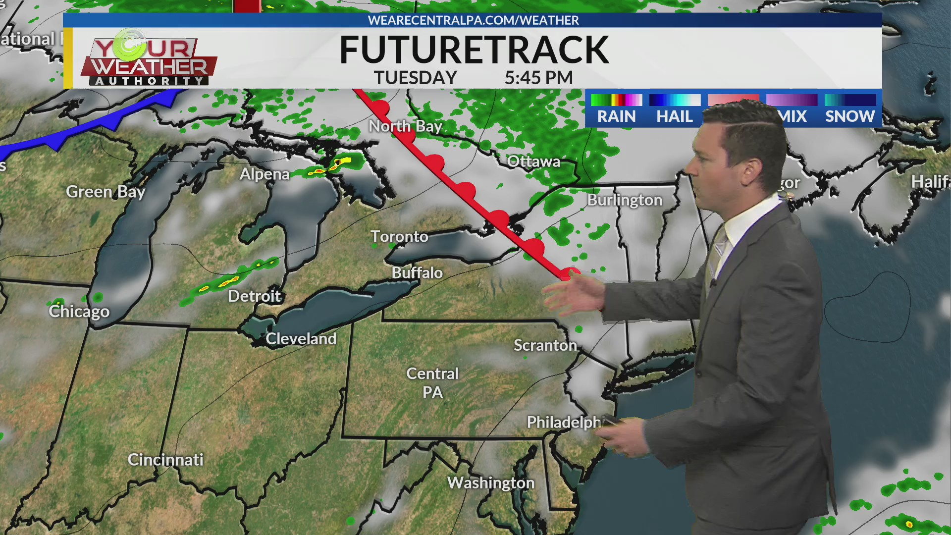 Monday Afternoon Weather Forecast, Sept 9th, 2019 | WTAJ