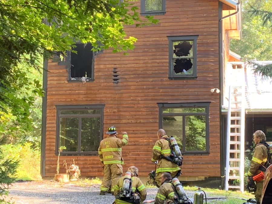 Crews Respond To House Fire In Huntingdon County