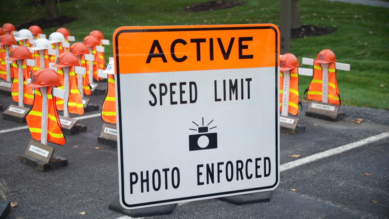 PennDot, PA Turnpike Announce Automated Work Zone Speed