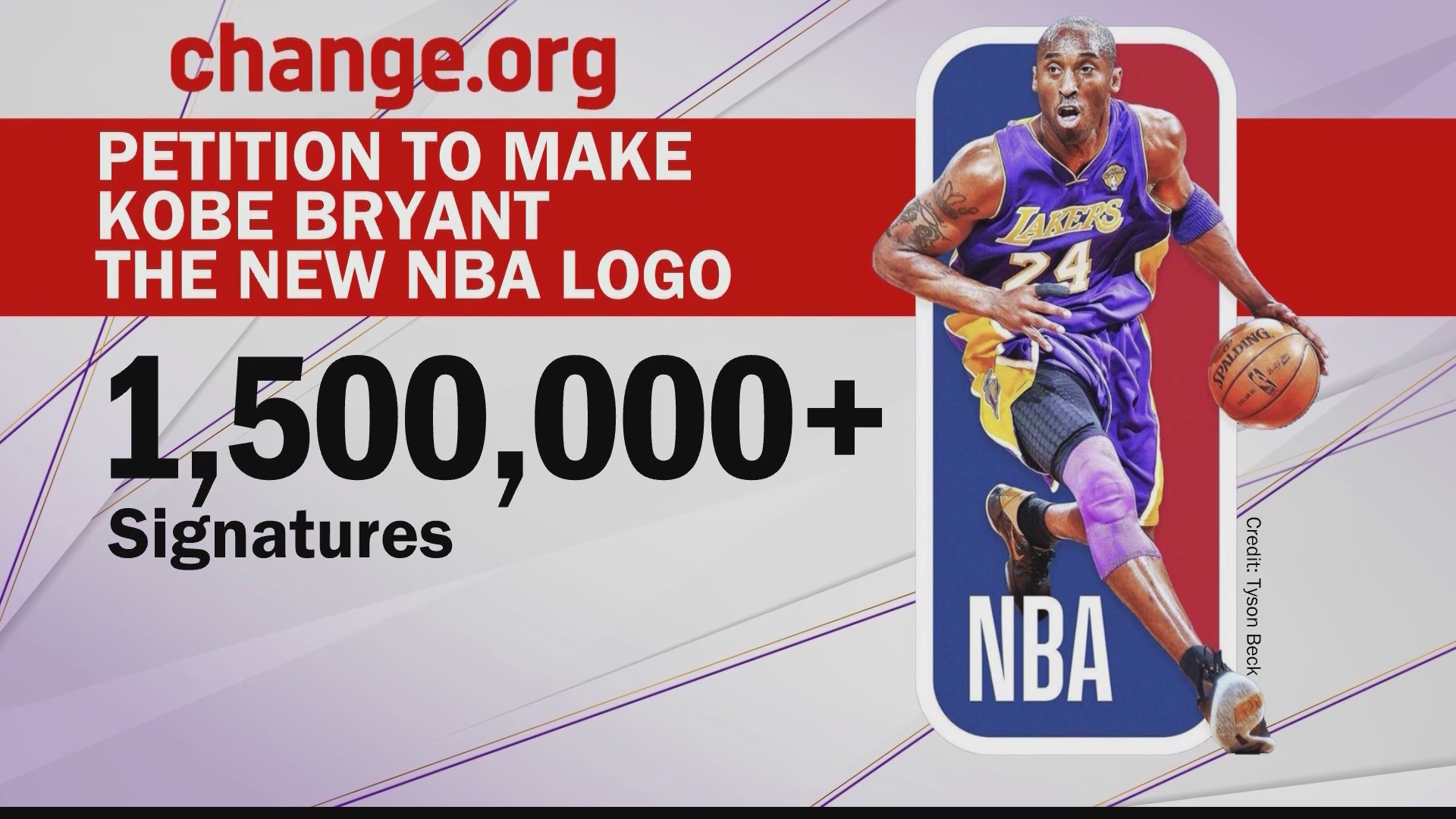 Petition To Make Kobe Bryant The New Nba Logo Wtaj Www