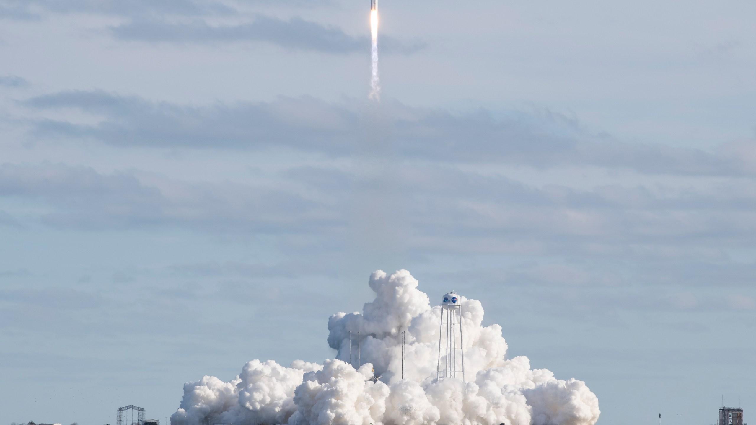 Northrop Grumman Antares CRS-13 Launch