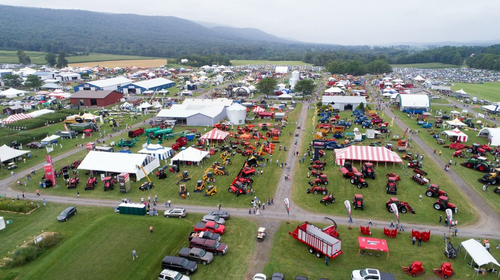 APD 2017 - exhibit field aerial from East - Michael Houtz