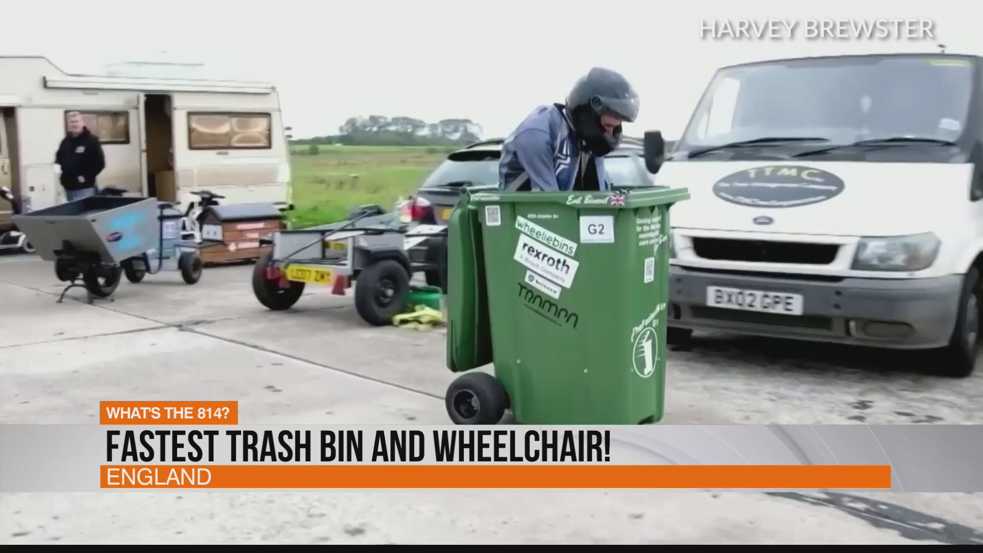MUST SEE: World' fastest trash can on wheels | WTAJ - www.wearecentralpa.com