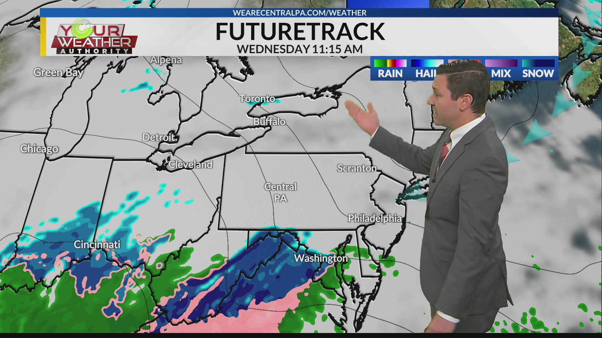 Monday Afternoon Weather Forecast Dec 14th 2020 Wtaj Www Wearecentralpa Com