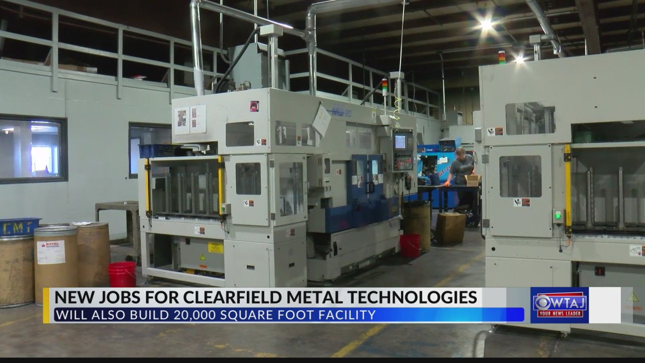Clearfield Metal Technologies expansion to create dozens of jobs in the area
