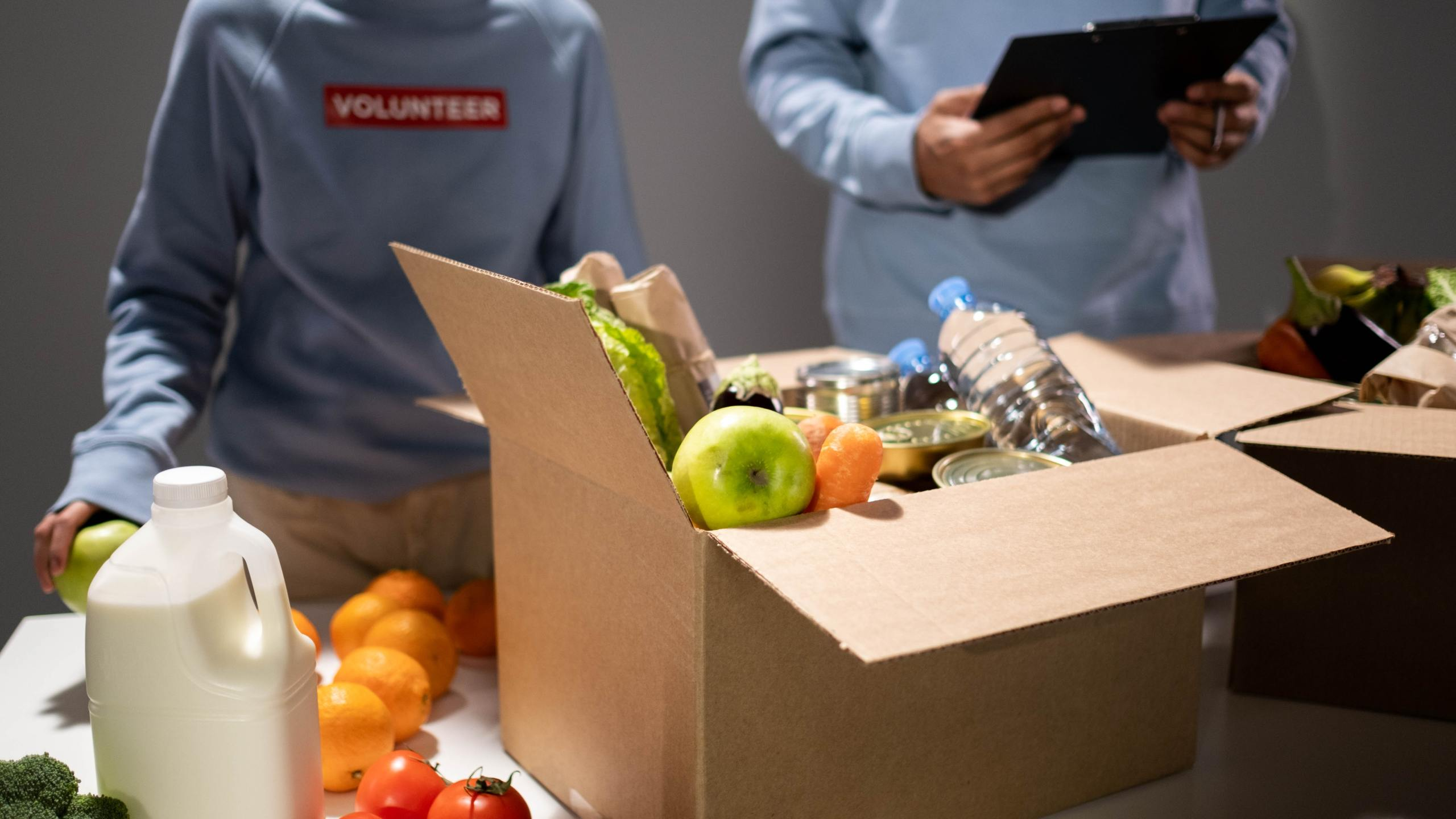 Food Drive Produce